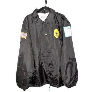 APG Security Work Uniform Jacket Black Medium